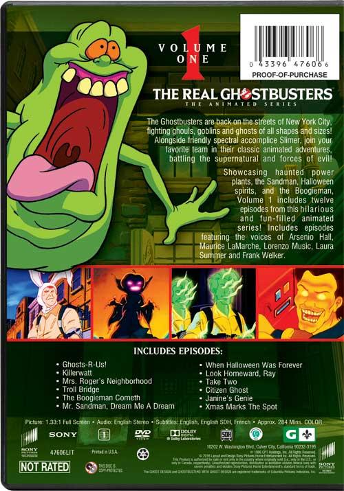 The Real Ghostbusters Crudele Nonnina in confezione