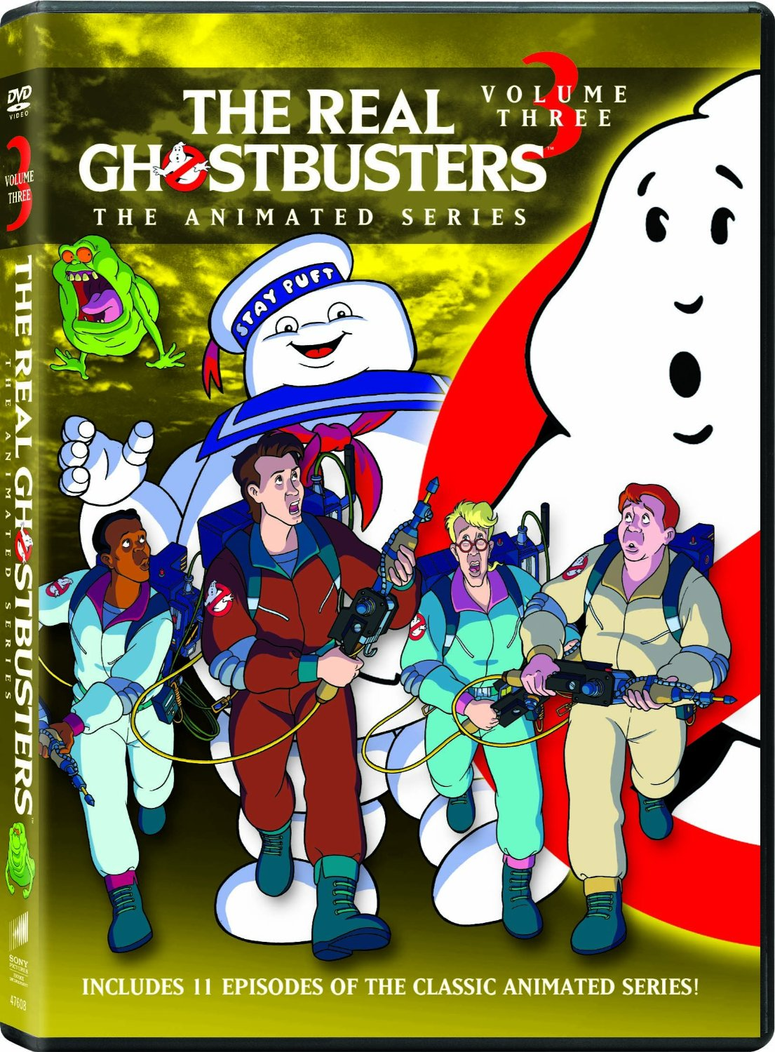 The Really Big Pix Collection Of Famous Mustaches: The Real Ghostbusters 2016 DVD Covers